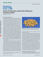 Diet affects intestinal health lab animal 2016 web
